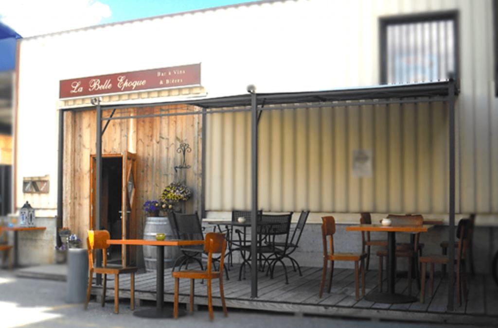 La Belle Époque bar à vins à Bex en Suisse