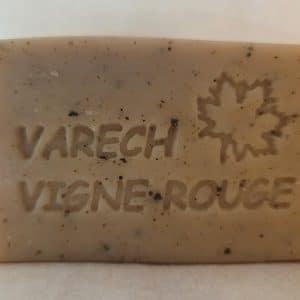Savon varech Vigne Rouge